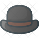 Bowler Hat Gentleman Icon