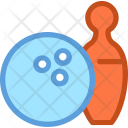 Bowling Ball Game Icon