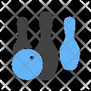 Bowling Strike Pins Icon