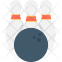 Alley Pins Hitting Icon