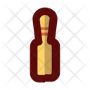 Bowling Pin Hitting Icon