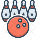 Bowling Ball Competition Icon