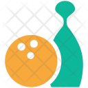 Bowling Game Skittles Icon