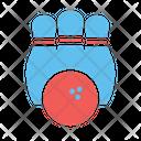 Ball Bowl Bowling Icon