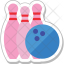 Bowling Sports Game Icon