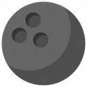 Bowling Ball Indoor Icon