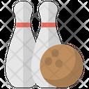 Bowling Ten Pins Icon
