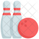 Bowling Game Play Icon