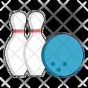 Bowling Ball Hobby Icon