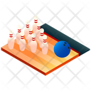 Bowling Sport Game Icon