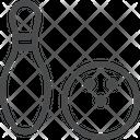 Bowling Ball Bowling Skettlebowling Equipment Game Icon