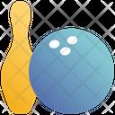 Bowling Ball Bowling Pin Icon