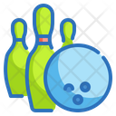 Bowling Pins Game Icon