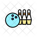 Bowling Play Game Icon