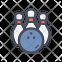 Bowling Sport Play Icon