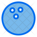 Bowling Game Playstation Icon