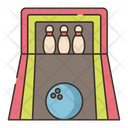 Bowling Alley Game Bowling Icon