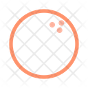 Ball Bowling Game Icon