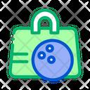 Bowling Bag Ball Icon