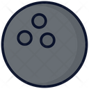 Bowling Ball Exercise Gym Icon
