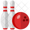 Bowling Ball Game Throwing Game Icon