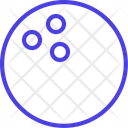 Bowling Ball Outline Bowling Ball Bowling Game Icon