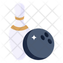 Alley Pin Hitting Pin Bowling Game Icon