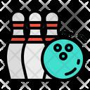 Bowling Game Fun Icon