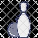 Bowling Pin Game Leisure Icon