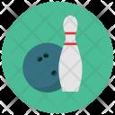 Bowling Pin Ball Icon
