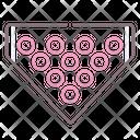 Bowling Pins Hitting Pins Alley Pins Icon
