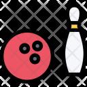 Bowling Sports Equipment Icon