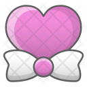 Bow Tie Heart Icon