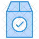 Check Package Box Package Icon