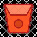Box Corn Food Icon
