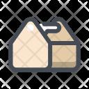 Box Building Construction Icon