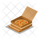 Pizza Delivery Box Icon