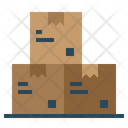 Shipping And Delivery Data Storage File Storage Icon
