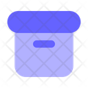 Parcel Box Package Shipping Archive Alt Icon