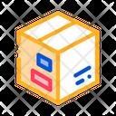 Transportation Carton Box Icon