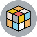 Box Cubes Design Icon