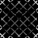 Box Cube Molecule Cube Shape Icon