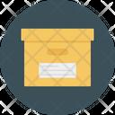 Parcel Cargo Box Icon