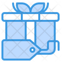 Box Gift Label Icon