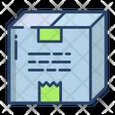 Kartboard Box Parcel Icon