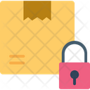 Box Logistic Security Lock Icon
