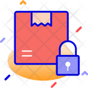 Box Logistic Security Lock Icon