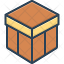 Box Shipping Storage Icon