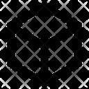 Box Dimension Volume Icon