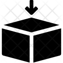 Box Hexahedron Insert Icon